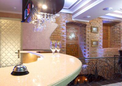 Chromium bell on bar